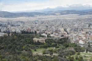 【W#116】アテネ(2)〜遺跡と海