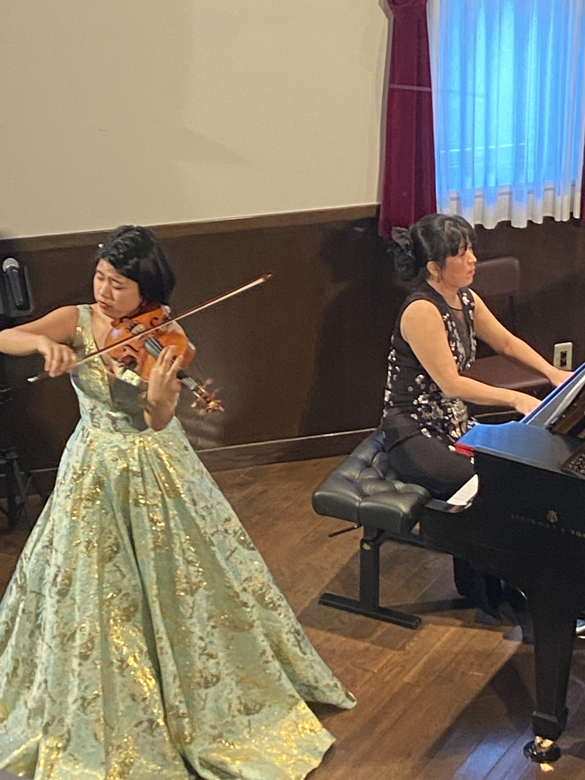【E#231】ヴァイオリンのリサイタルとヴィーガン対応の店へ〜音楽とヴィーガンの食事で癒された